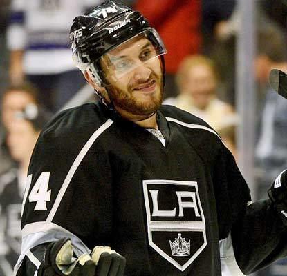 Dwight King NHL Recap Phoenix Coyotes at Los Angeles Kings Oct 24