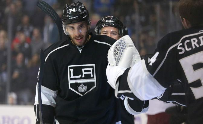 Dwight King Dwight King off to fast start for the Los Angeles Kings