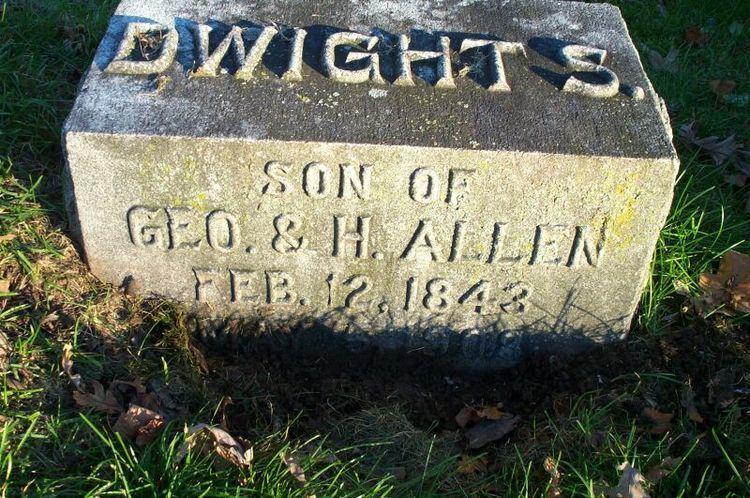 Dwight Sidney Allen Dwight Sidney Allen 1843 1908 Find A Grave Memorial