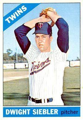 Dwight Siebler 1966 Topps Dwight Siebler 546 Baseball Card Value Price Guide