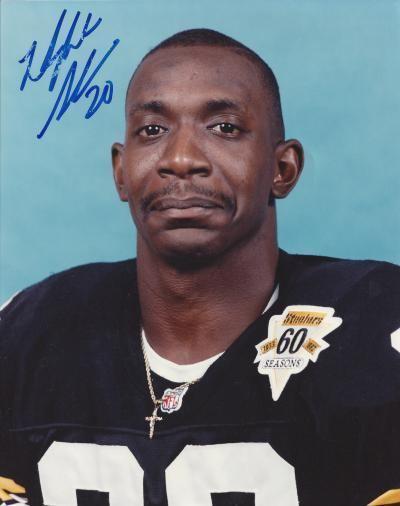 Dwight Stone (baseball) Dwight Stone autographed 8x10 Photo Pittsburgh Steelers