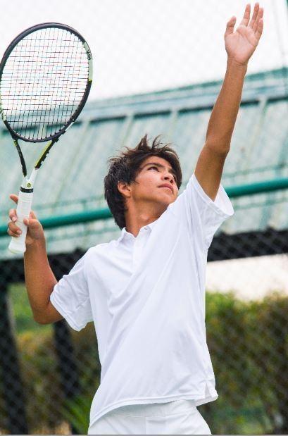 Dyan Castillejo Dyan Castillejos son nabs Under 14 title in national tennis tilt