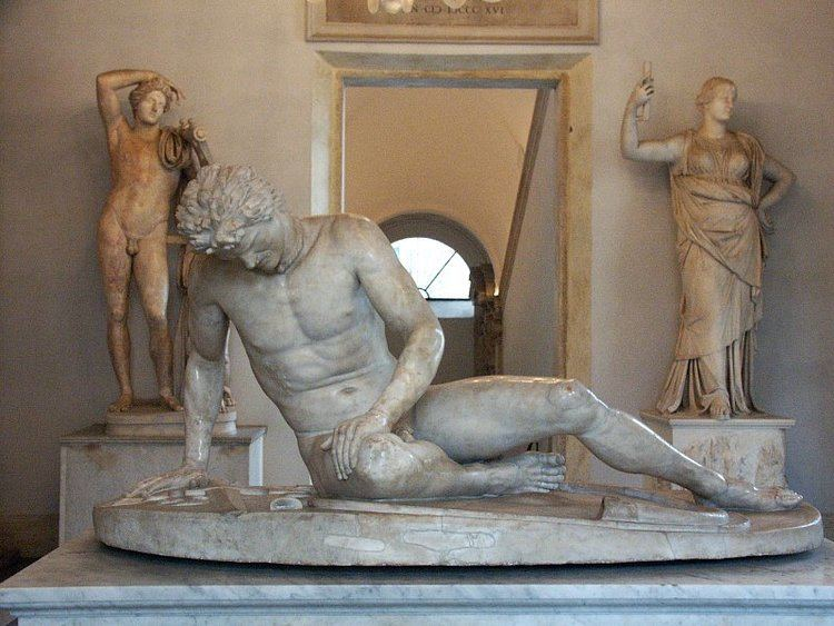 Dying Gaul Images of Dying Gaul in the Capitoline Museums