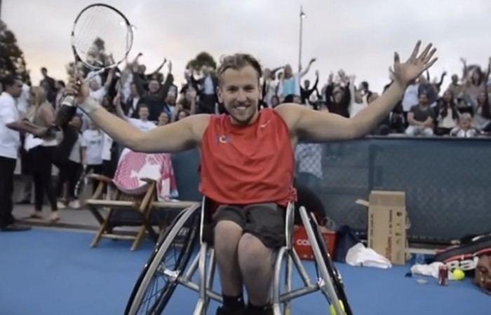 Dylan Alcott Tennis community supports Alcott39s historymaking effort
