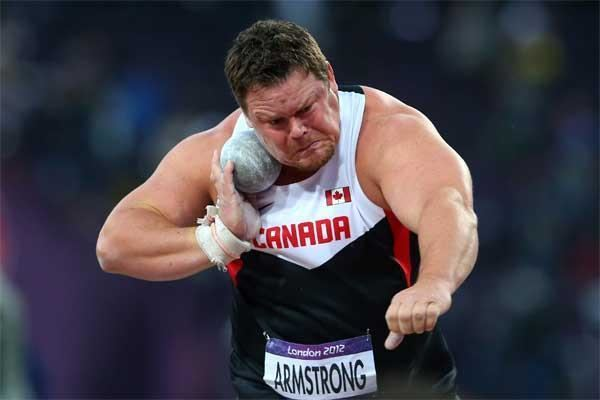 Dylan Armstrong Athlete profile for Dylan Armstrong iaaforg