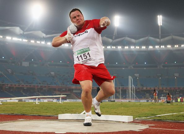 Dylan Armstrong Dylan Armstrong Pictures 19th Commonwealth Games Day 4