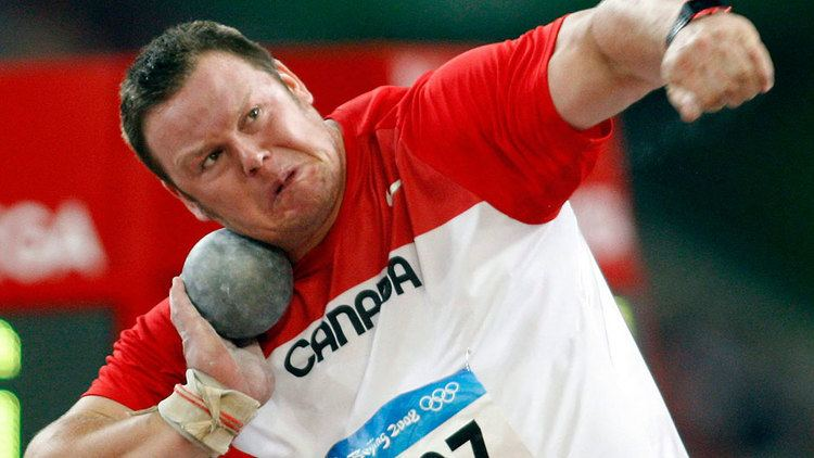 Dylan Armstrong 6 years later Canadian shot putter Dylan Armstrong to