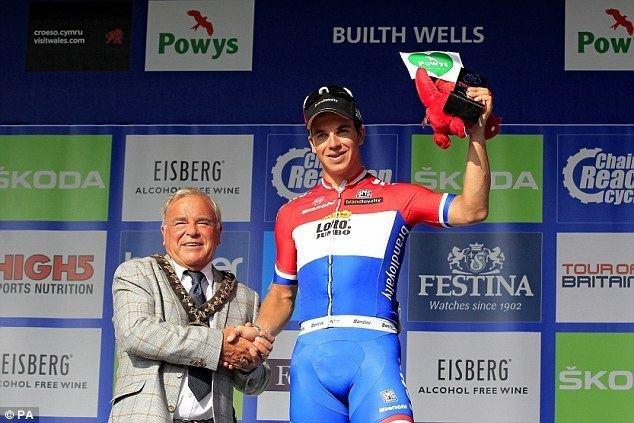 Dylan Groenewegen Hollands Dylan Groenewegen claims Tour of Britain stage four