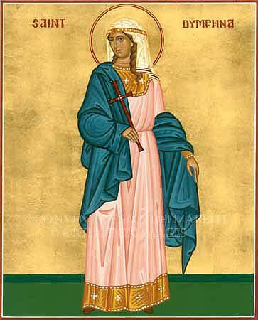 Dymphna St Dymphna Patroness of the Mentally Ill and Victims of
