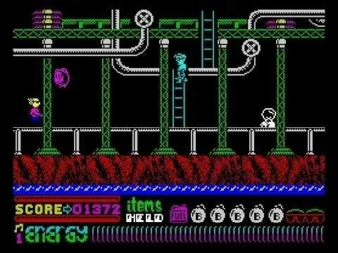 Dynamite Dan II Dynamite Dan II Walkthrough ZX Spectrum YouTube