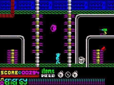 Dynamite Dan II Dynamite Dan 2 for the ZX Spectrum YouTube