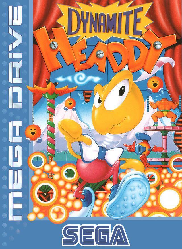 Dynamite Headdy Game Dynamite Headdy Sega Genesis 1994 Sega OC ReMix