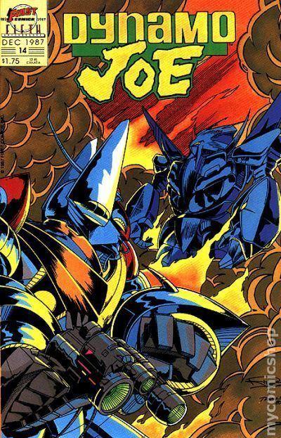 Dynamo Joe Dynamo Joe 1986 comic books