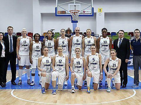 Dynamo Kursk DYNAMO KURSK EuroLeague Women 2015 FIBA Europe