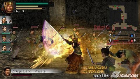 Dynasty Warriors Vol. 2 PSP Dynasty Warriors Vol2 USA English Out