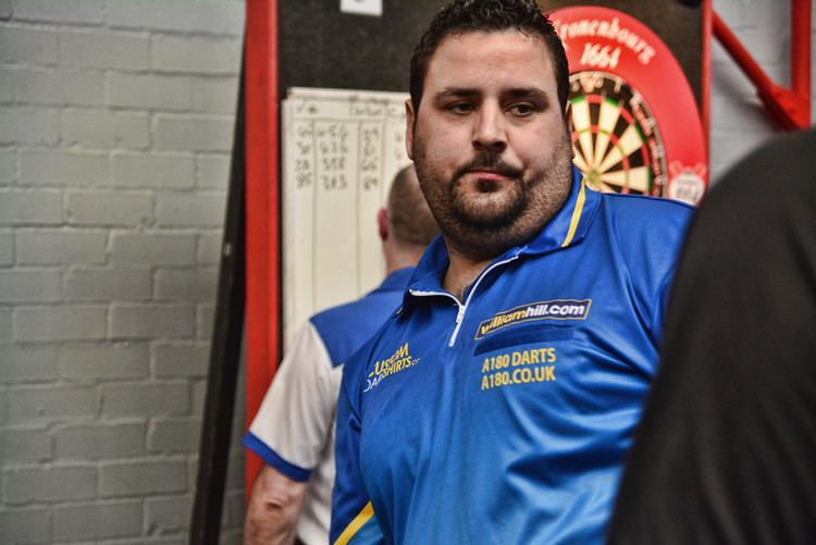 Dyson Parody Dyson Parody at Gibraltar Darts Open after winning Torremolinos Open