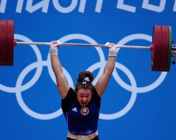 Dzina Sazanavets Dzina Sazanavets Photos Hilarious faces of Olympic weightlifters