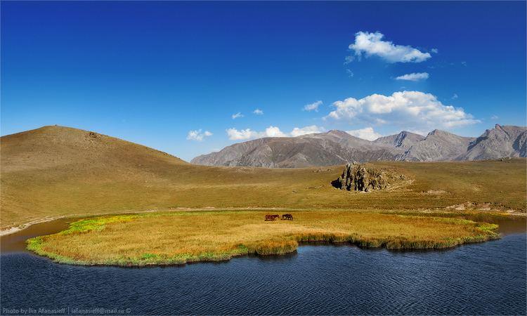 Dzungaria Beautiful mountain scenery of Dzungaria Kazakhstan travel and