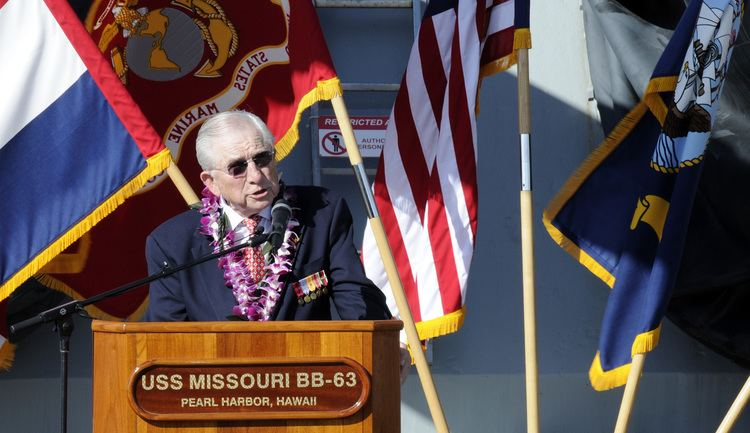E. Bruce Heilman FileUS Navy 110902NVM928023 Dr E Bruce Heilman speaks during