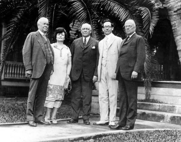 E. G. Sewell Florida Memory Mayor E G Sewell with others Miami Florida