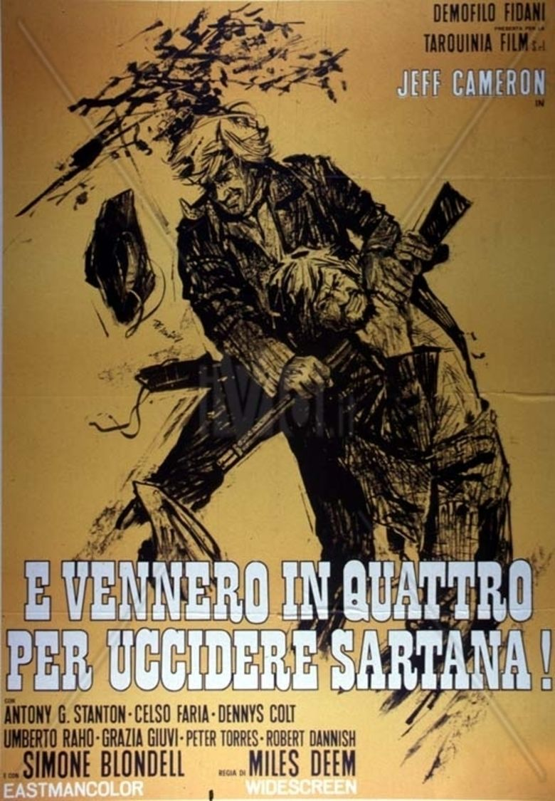 e vennero in quattro per uccidere Sartana! movie poster