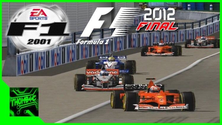 EA Sports F1 2001 F1 2001 Mod F1 2012 finale version par THOM9445 YouTube