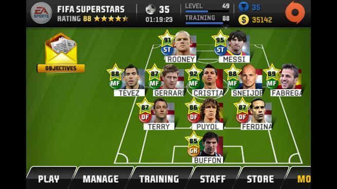 EA Sports FIFA Superstars FIFA Superstars iPhone EA Games