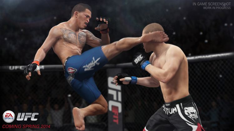 EA Sports UFC EA Sports UFC review GamesRadar