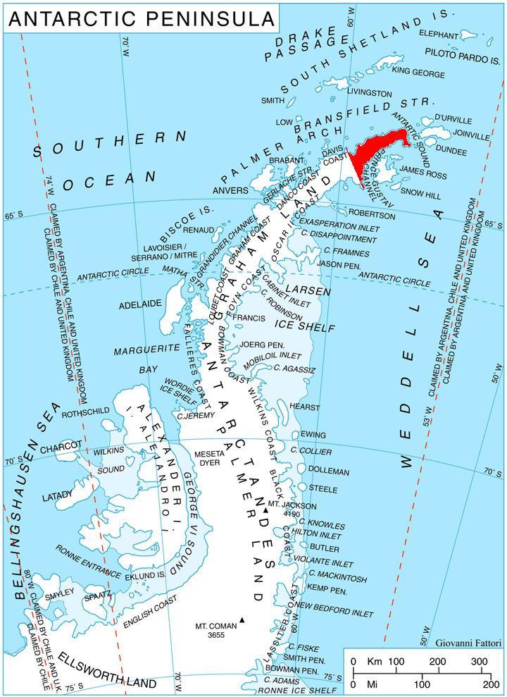 Eagle Island, Antarctica