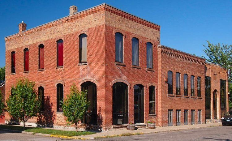 Eagle Newspaper Office