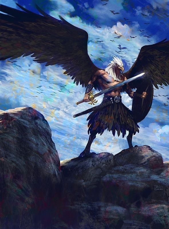 Eagle warrior Eagle Warrior by MrDream on DeviantArt