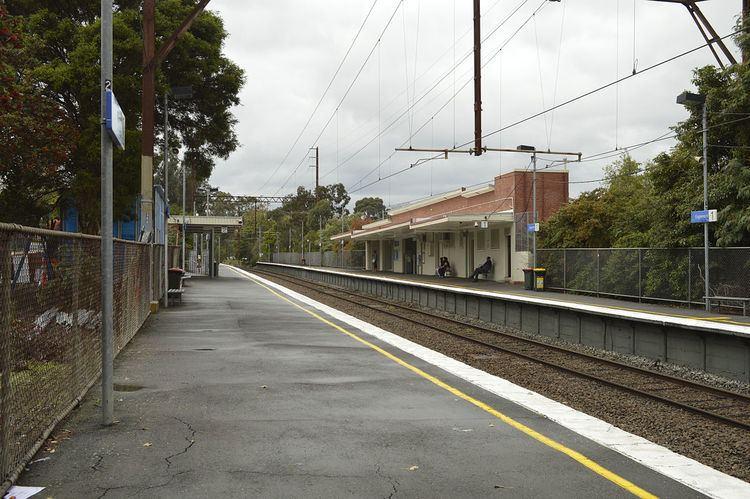 Eaglemont railway station