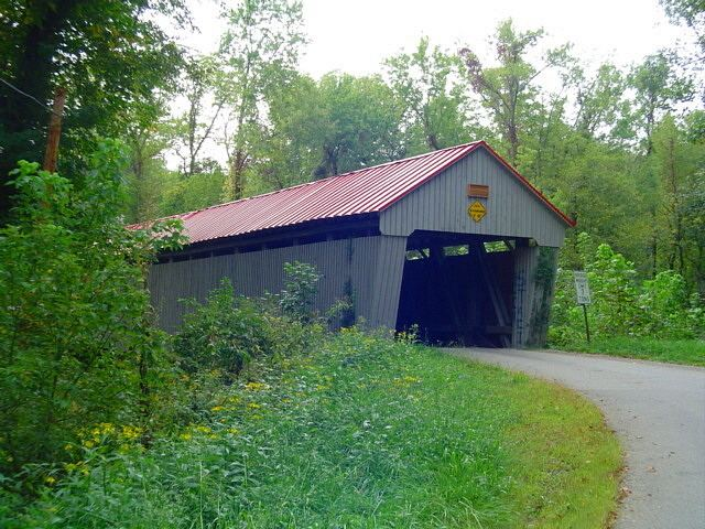 Eakin Mill Covered Bridge