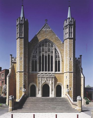 Ealing Abbey Ealing Abbey Patrick Baty Historical paint consultant