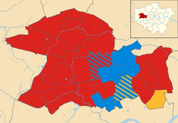Ealing London Borough Council election, 2014