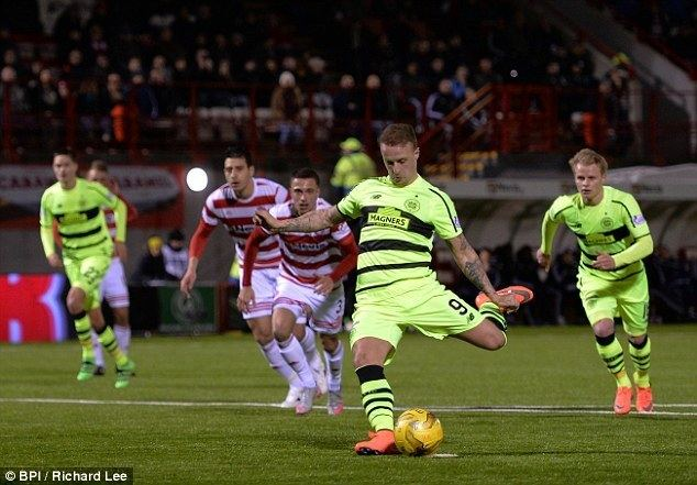 Eamonn Brophy Hamilton 11 Celtic Eamonn Brophy strikes to rescue Accies precious