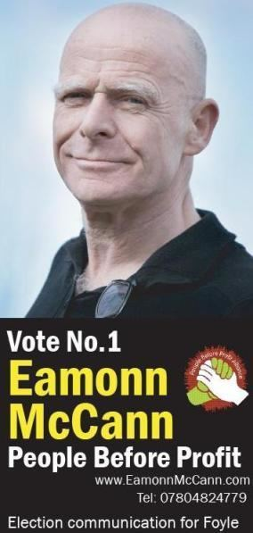 Eamonn McCann httpsirishelectionliteraturefileswordpressco