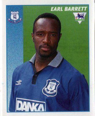 Earl Barrett EVERTON Earl Barrett 165 MERLIN Premier League 97