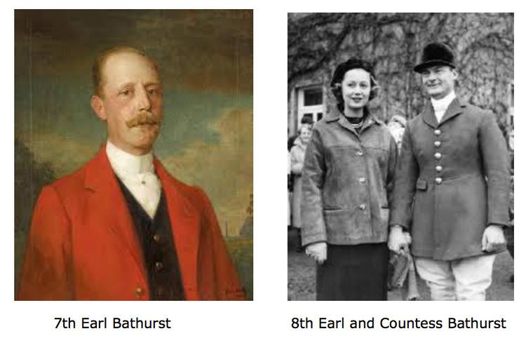 Earl Bathurst Bathurst Family History The Bathurst Estate