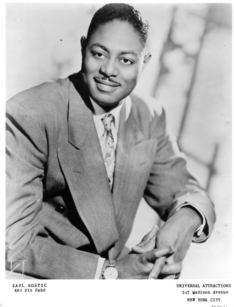 Earl Bostic Photograph of Earl Bostic Black Archives of MidAmerica