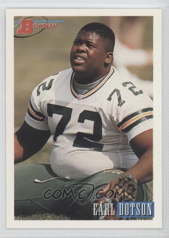 Earl Dotson Earl Dotson Football Cards COMC Card Marketplace