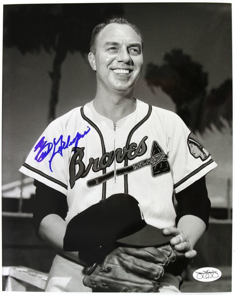 Earl Gillespie Lot Detail 195356 Earl Gillespie Milwaukee Braves Announcer
