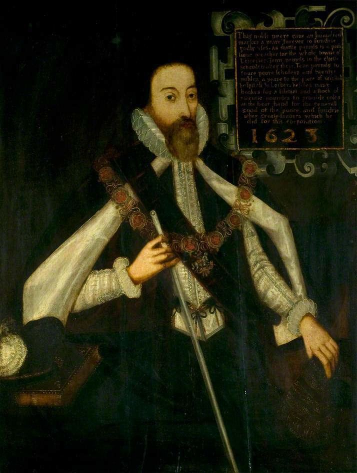 Earl of Huntingdon Sir George Hastings Later 4th Earl of Huntingdon and His Son