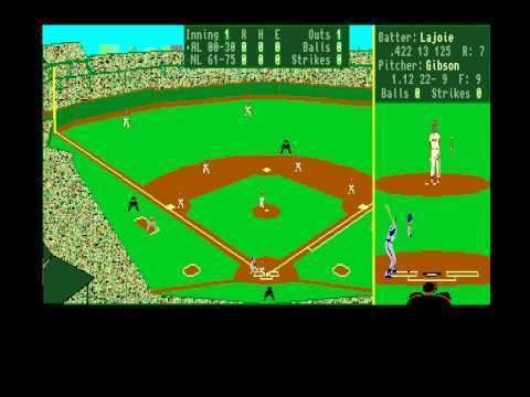 Earl Weaver Baseball Earl Weaver Baseball for Amiga by Electronic Arts YouTube