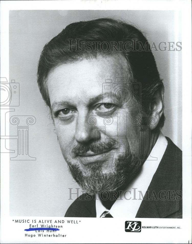 Earl Wrightson 1971 Press Photo Baritone Singer Earl Wrightson Kolmar Luth