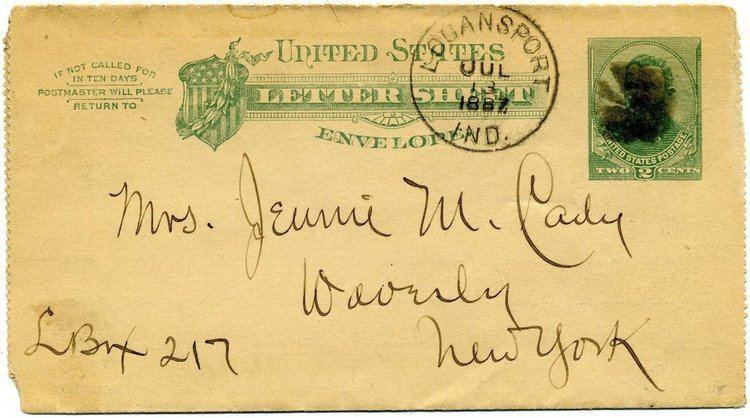 Earliest reported postmark