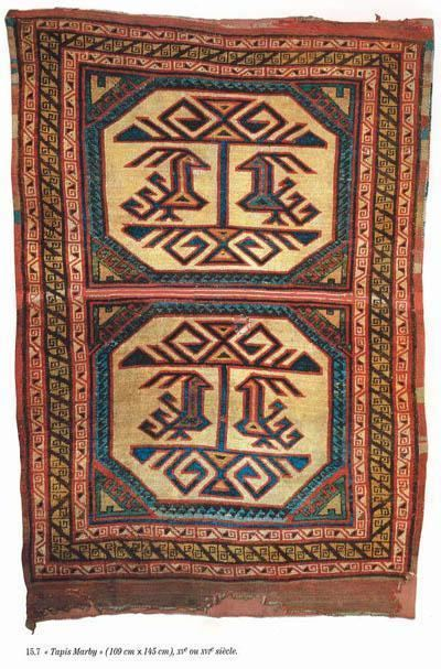 Early Anatolian Animal carpets