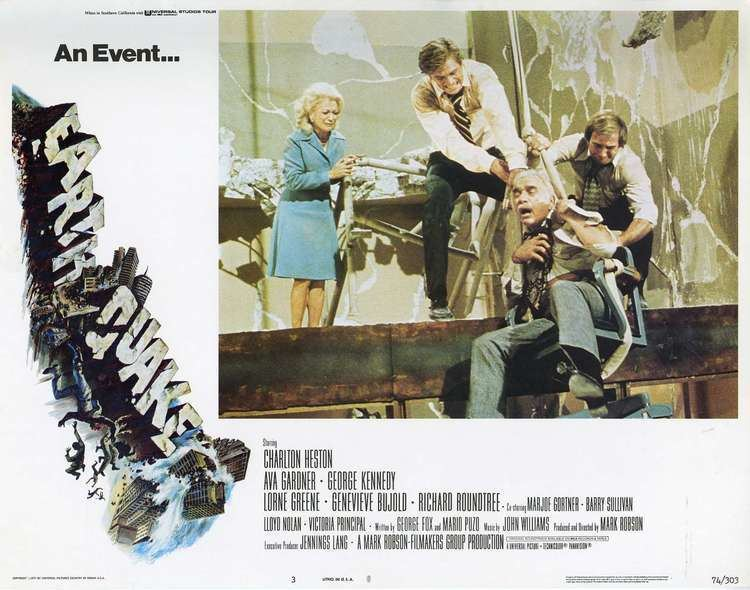 Earthquake (film) Earthquake 1974 Film Review by Gareth Rhodes Gareth Rhodes Film
