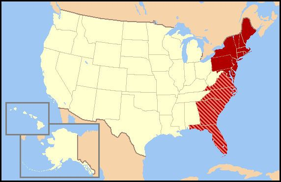 East Coast of the United States US East Coast vs West Coast best state better City vs City