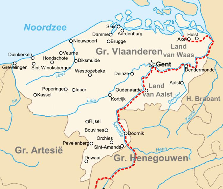 East Flanders in the past, History of East Flanders